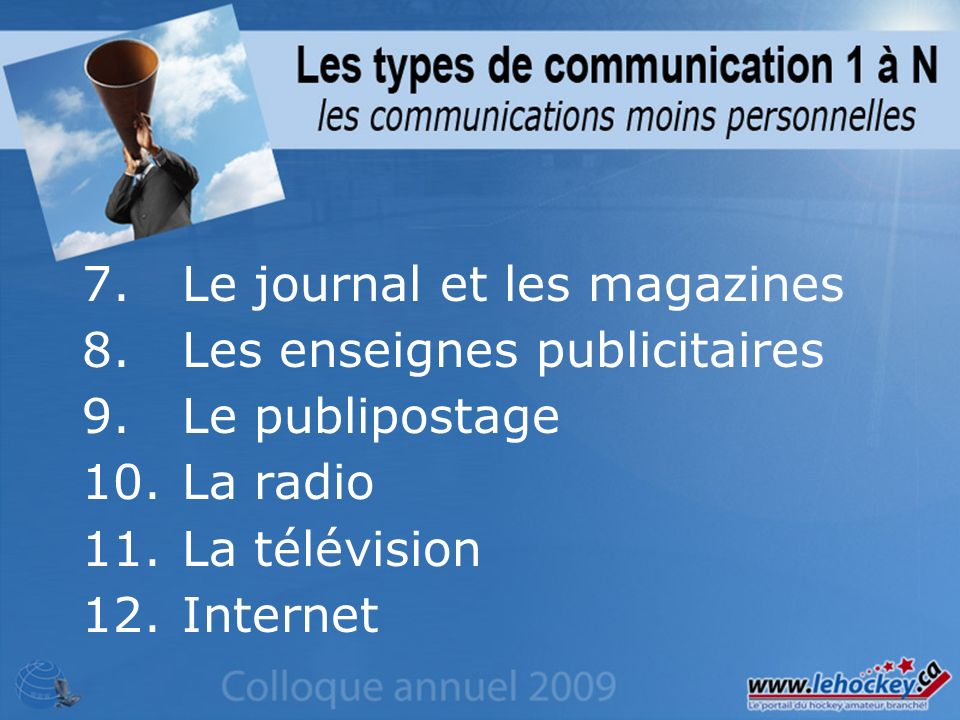 Aucune promotion est nécessaire ou utile au-delà de communiquer lURL aux intéressés.