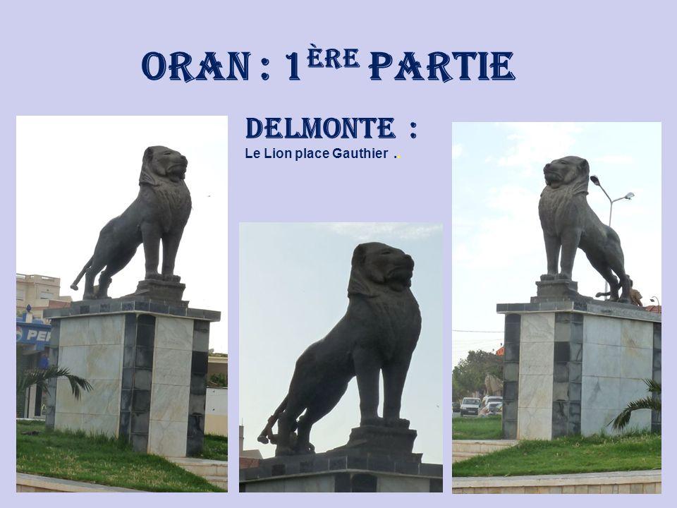 oranie Voyage dans Notre Beau Pays : Du 26 au 31 Mai 2009. Annie & François … 5 ème Partie : ORAN : 1 ère Partie : - Delmonte. - Eckmul. - la Gare.