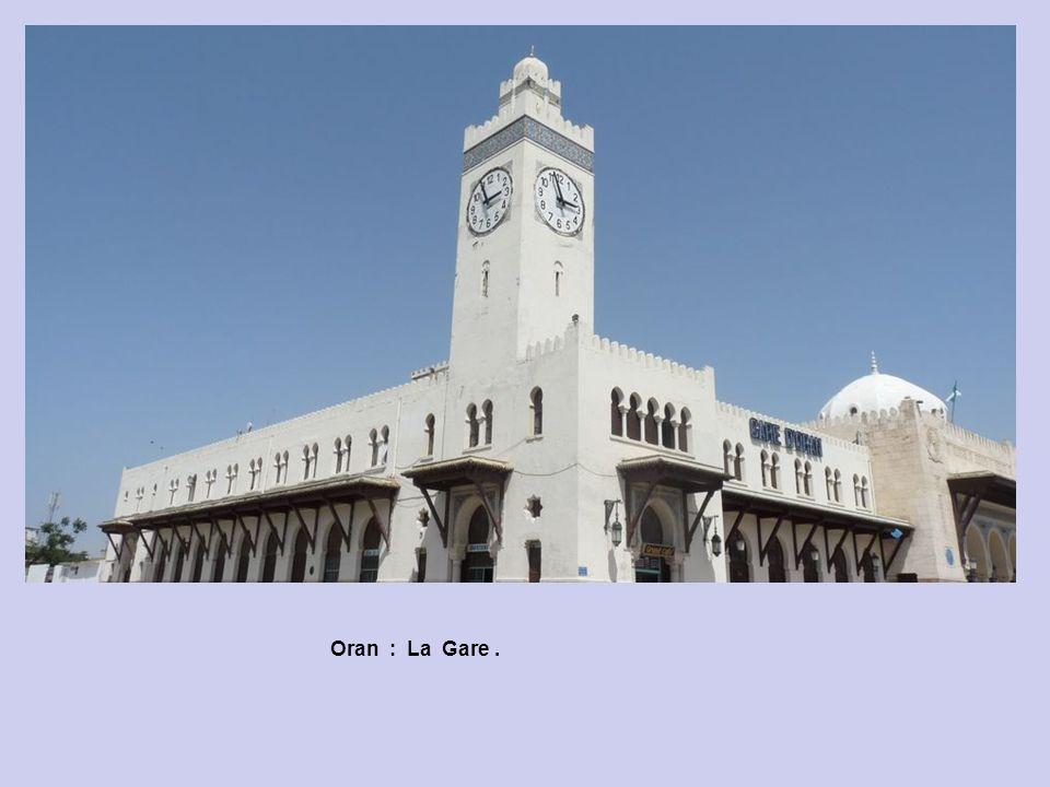 Oran : La Gare : Lignes Banlieue.