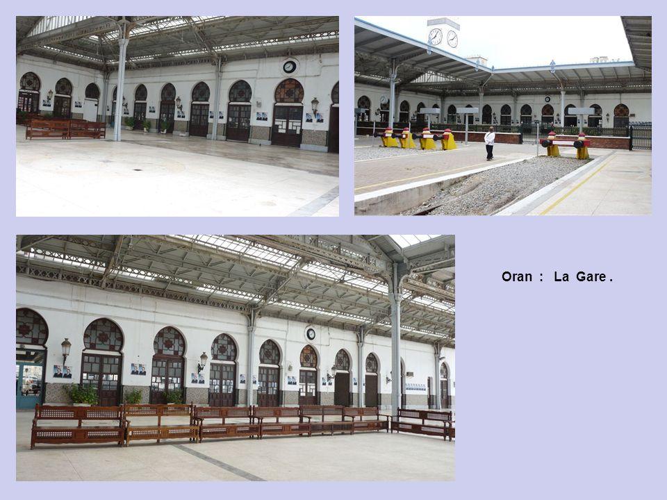 Oran : La Gare.