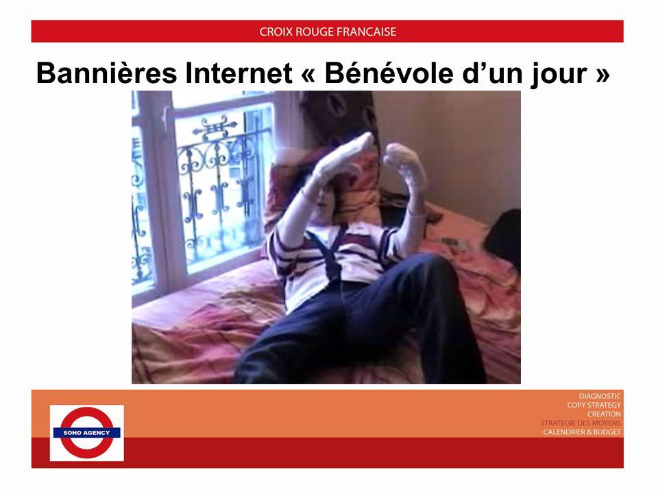 Bannières Internet « Bénévole dun jour »