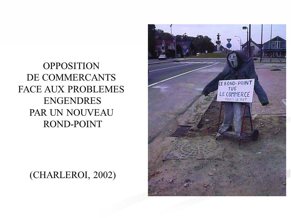 OPPOSITION A LA CONSTRUCTION DUNE ROUTE NATIONALE COUPANT UN VILLAGE EN DEUX (CHARLEROI, 2002)