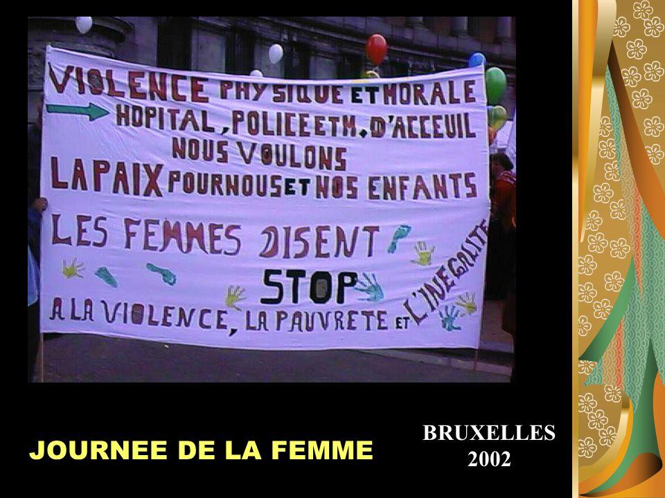 BRUXELLES2002 JOURNEE DE LA FEMME