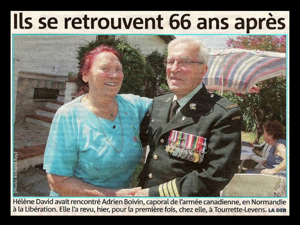 Le 17 Août 1944,les Canadiens à Falaise
