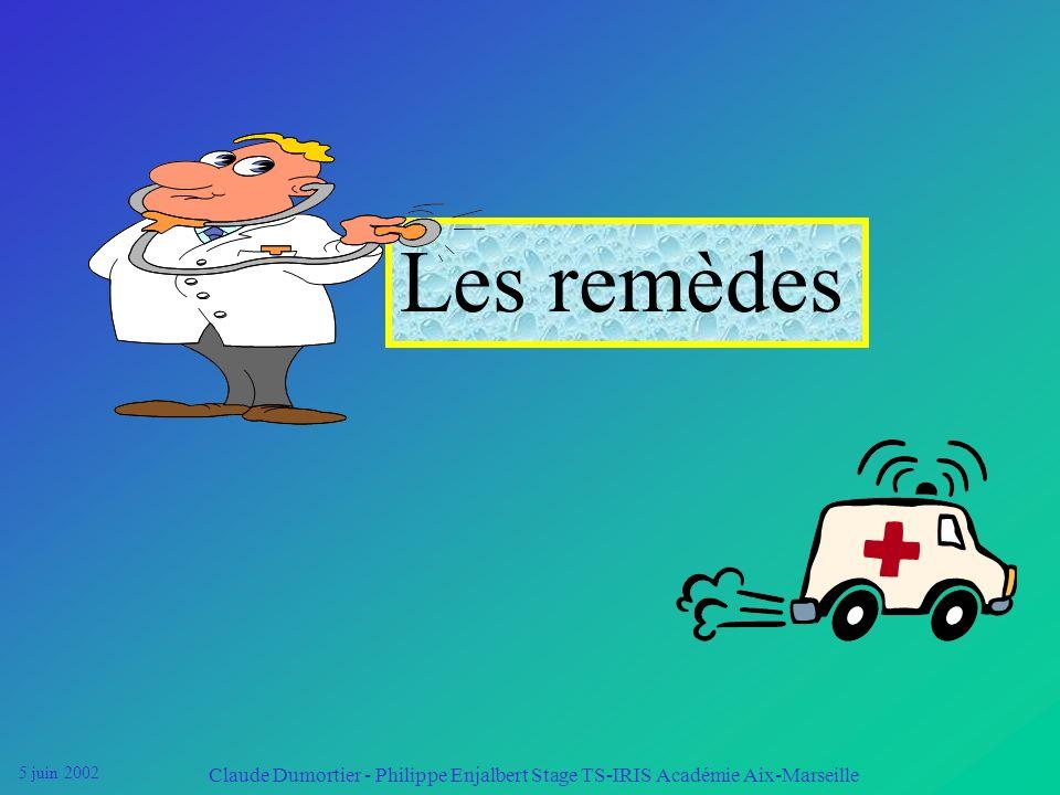 5 juin 2002 Claude Dumortier - Philippe Enjalbert Stage TS-IRIS Académie Aix-Marseille Les effets à long terme Ils sont dus à laugmentation des pertes