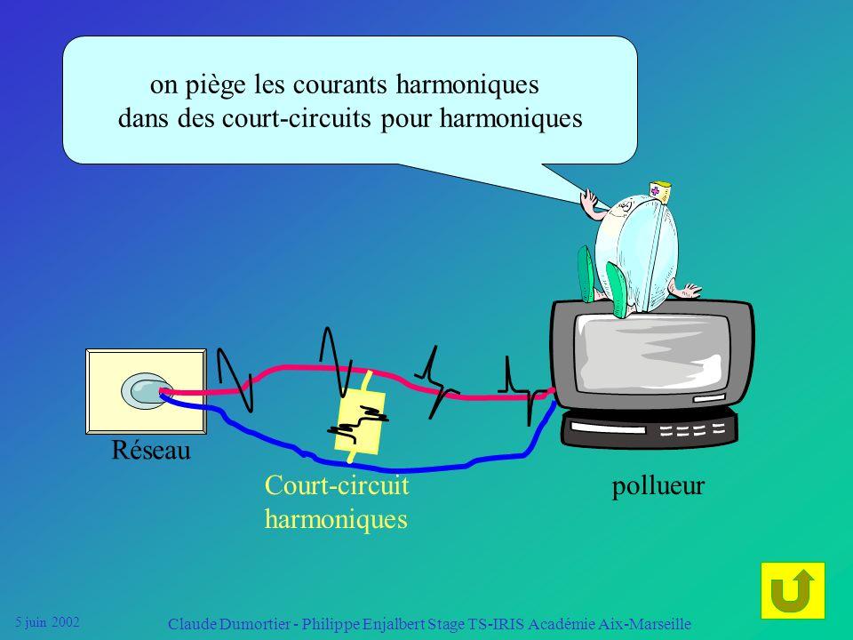 5 juin 2002 Claude Dumortier - Philippe Enjalbert Stage TS-IRIS Académie Aix-Marseille Réseau Le but est de dépolluer le réseau lorsque le niveau dhar