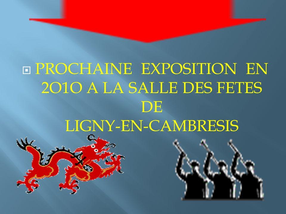 Participations à de nombreux salons : Cambrai Valenciennes Tergnier Chauny Caudry Monchecourt Douai St Quentin Haveluy Somain Estourmel Vendin-le-Viei