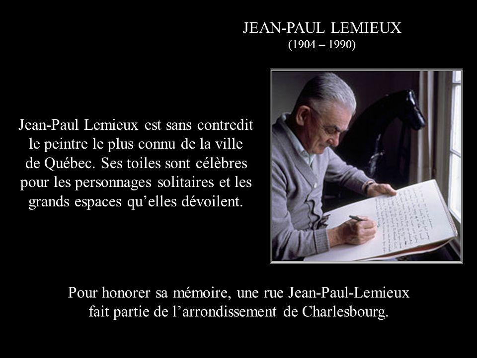 RAOUL JOBIN (1906 – 1974) Natif du quartier St-Sauveur, Raoul Jobin est considéré comme lune des plus grandes voix québécoises.
