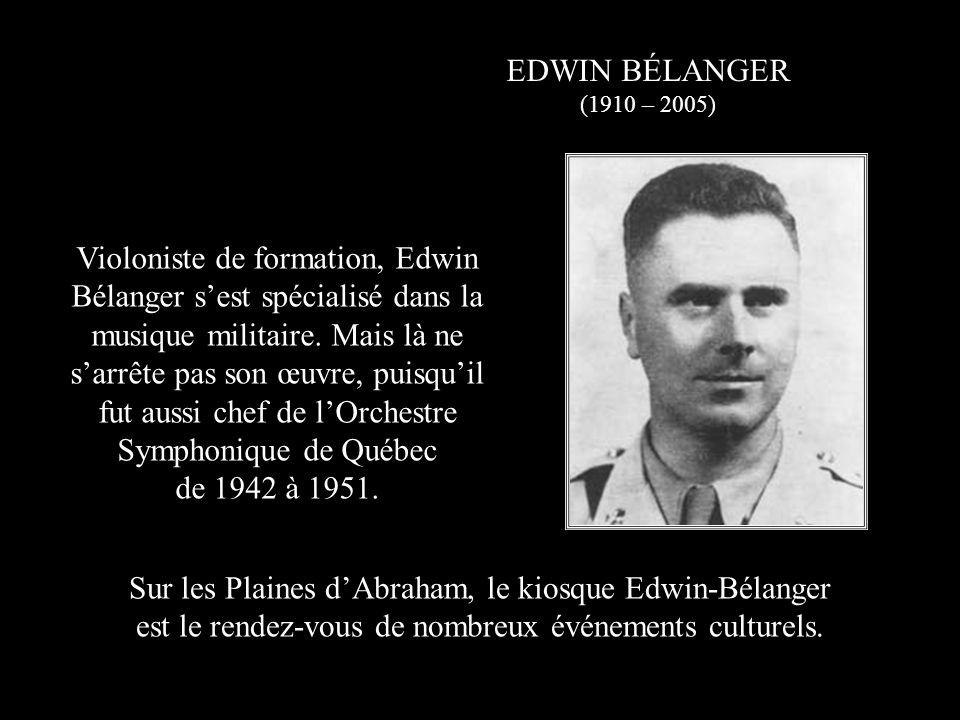 FÉLIX LECLERC (1914 – 1988) Natif de La Tuque, cest à Québec que Félix Leclerc fait ses débuts artistiques en animant une émission radiophonique de 1934 à 1937.