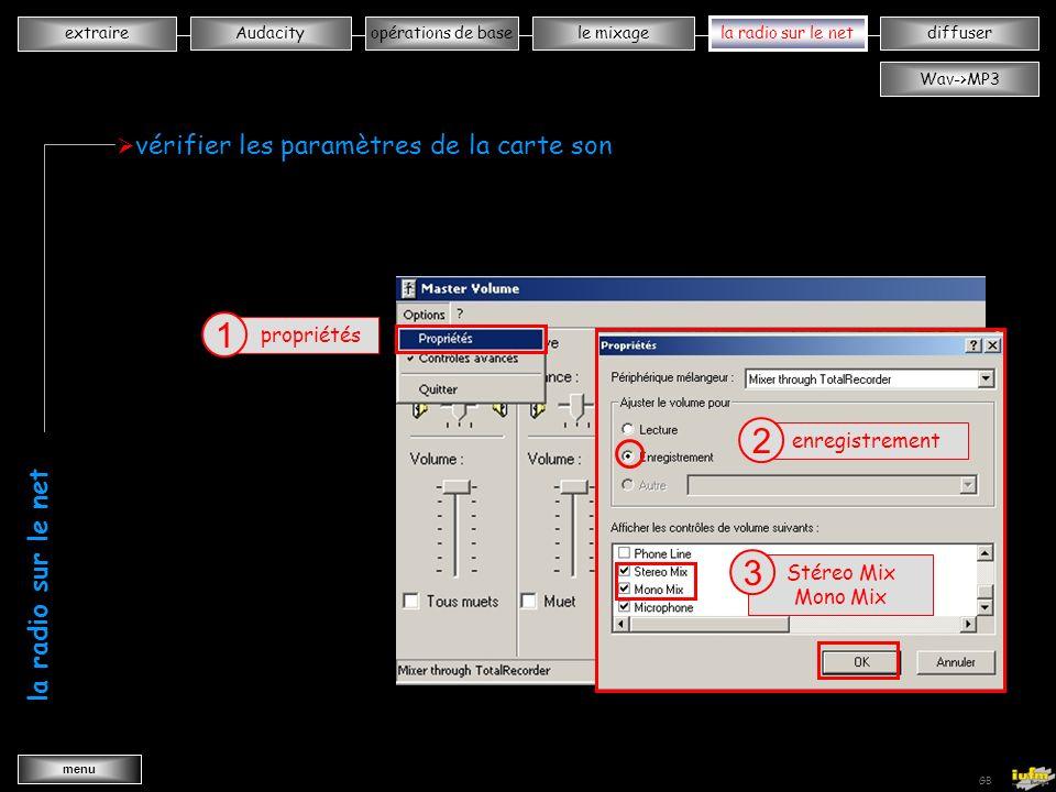 institutionnelles Didier ATTICA opérations de basele mixagela radiodiffuserAudacity extraire menu Wav->MP3 GB déplacer les pistes sélectionner outil calage temporel 1 déplacer la sélection 2 Piste 1 Piste 2 même démarche que pour « normaliser - les fondus - enregistrer le projet » wwwwwwwwww wwwwwwwwww le montage mixage normaliser enregistrer projet sélectionner les fondusenregistrement micro importer