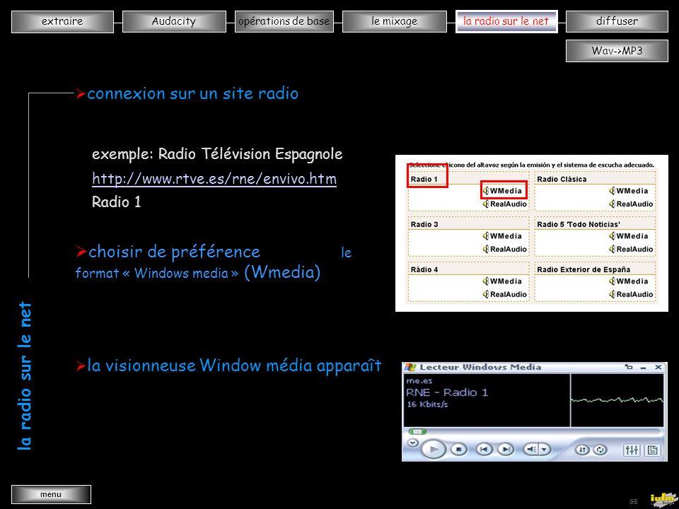 institutionnelles Didier ATTICA opérations de basele mixagela radiodiffuserAudacity extraire menu Wav->MP3 GB qqqqqqqqqqqxxxxxxxxxxx ouvrir Audacity sélectionner lentrée audio 1 réduire Audacity 2 - MicrophoneMono MixStéréo Mix la radio sur le net xxxxxxxxxxxxxxxxxxx la radio sur le net