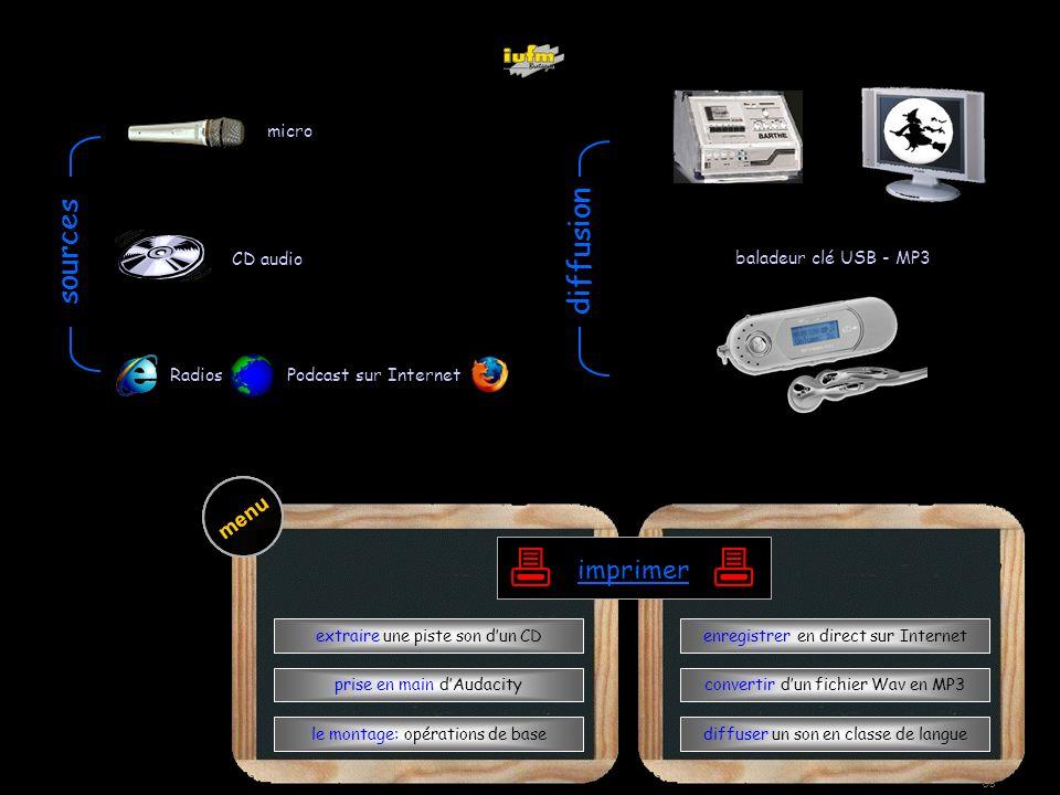 institutionnelles Didier ATTICA opérations de basele mixagela radiodiffuserAudacity extraire menu Wav->MP3 GB WWW diffuser en cours de langue télécharger enregistrer extraire remonter laudio WWWwwwwww WWWwwwwwwww diffusion baladeur clé USB - MP3 Radios Podcast sur Internet micro CD audio sources bbbbbbbbbbbbbbbbbbbb