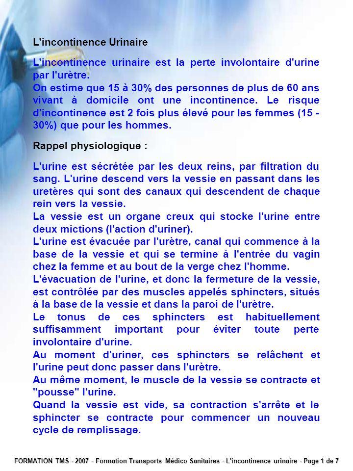 FORMATION TMS - 2007 - Formation Transports Médico Sanitaires – Notions de psychiatrie – Page 14 de 19 · Troubles neurologiques : névrite optique.
