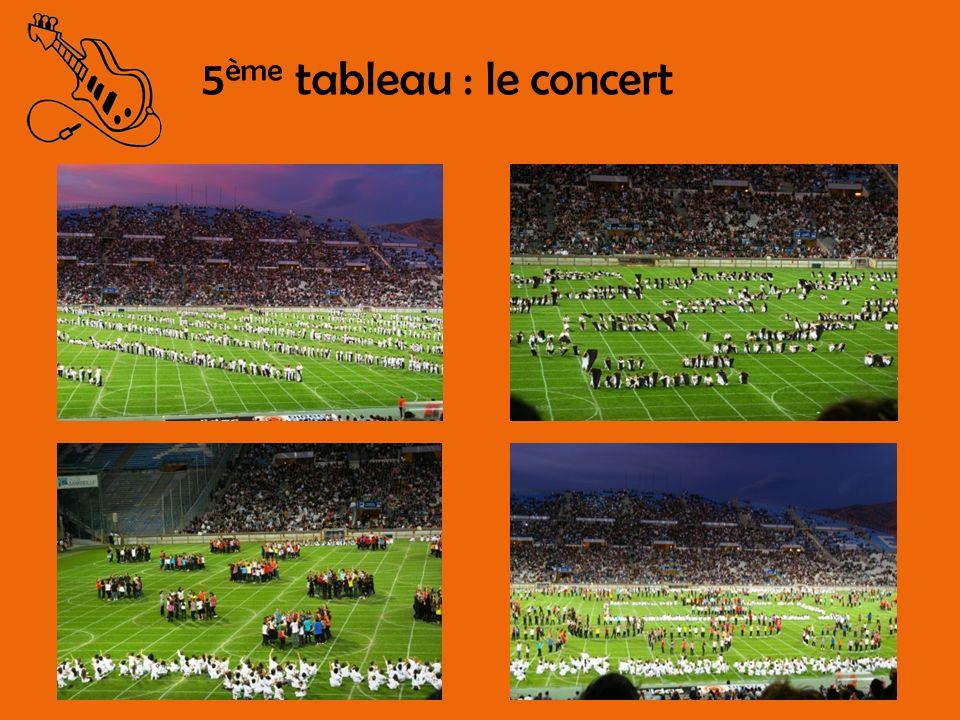 5 ème tableau : le concert