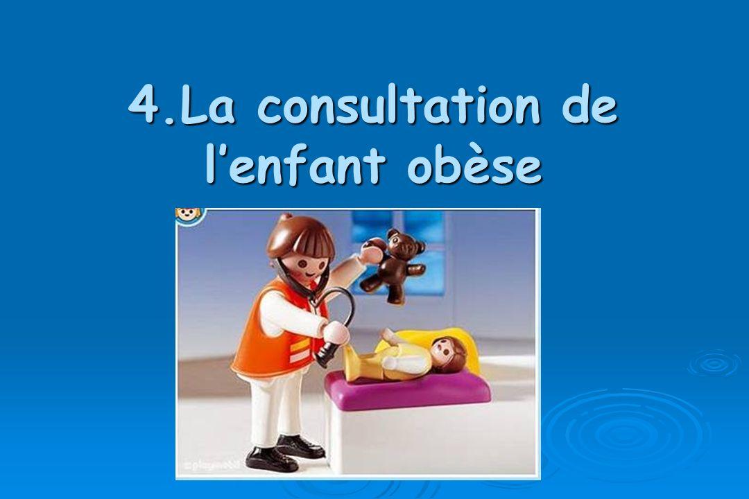 4.La consultation de lenfant obèse