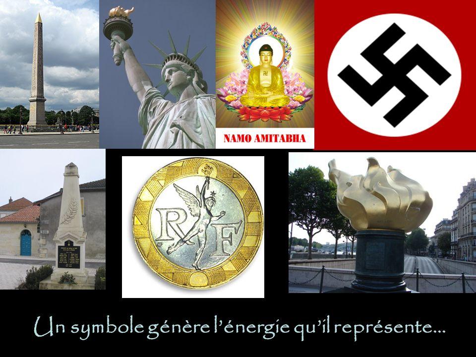 Un symbole génère lénergie quil représente…