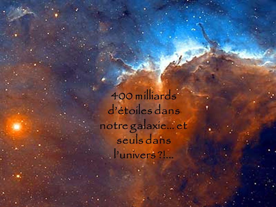 400 milliards détoiles dans notre galaxie… et seuls dans lunivers ?!...
