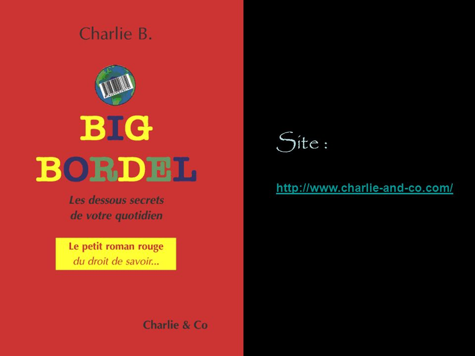 http://www.charlie-and-co.com/ Site :