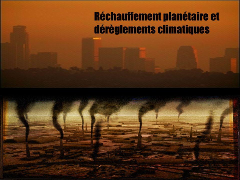 Réchauffement planétaire et dérèglements climatiques