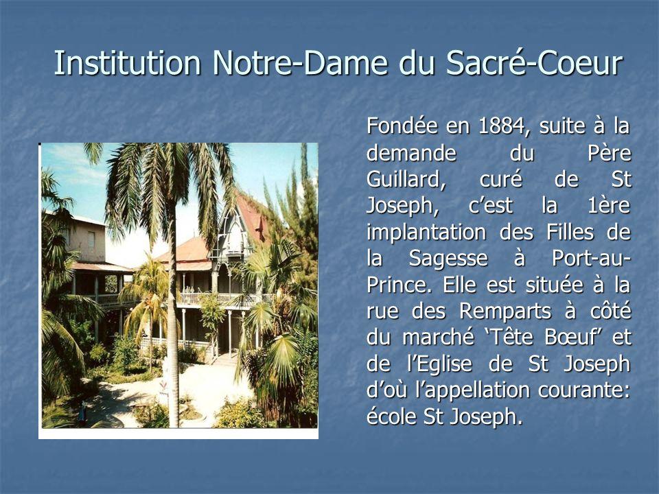 Ecole fondamentale En 1884, lécole débuta avec 48 élèves.