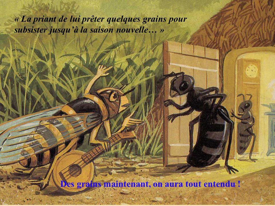 rostre En effet, Monsieur a raison, les cigales nont pas de mandibules comme les fourmis, mais un rostre qui fonctionne comme une seringue et avec lequel elles aspirent la sève des végétaux.