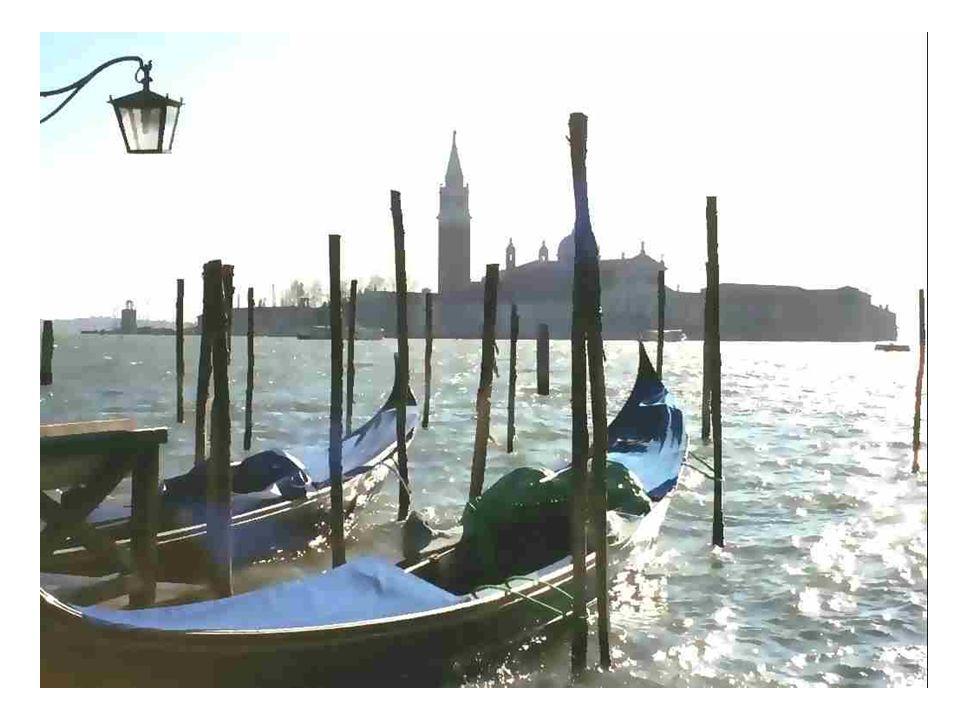 Venise est une diva, Venise se donne en spectacle .