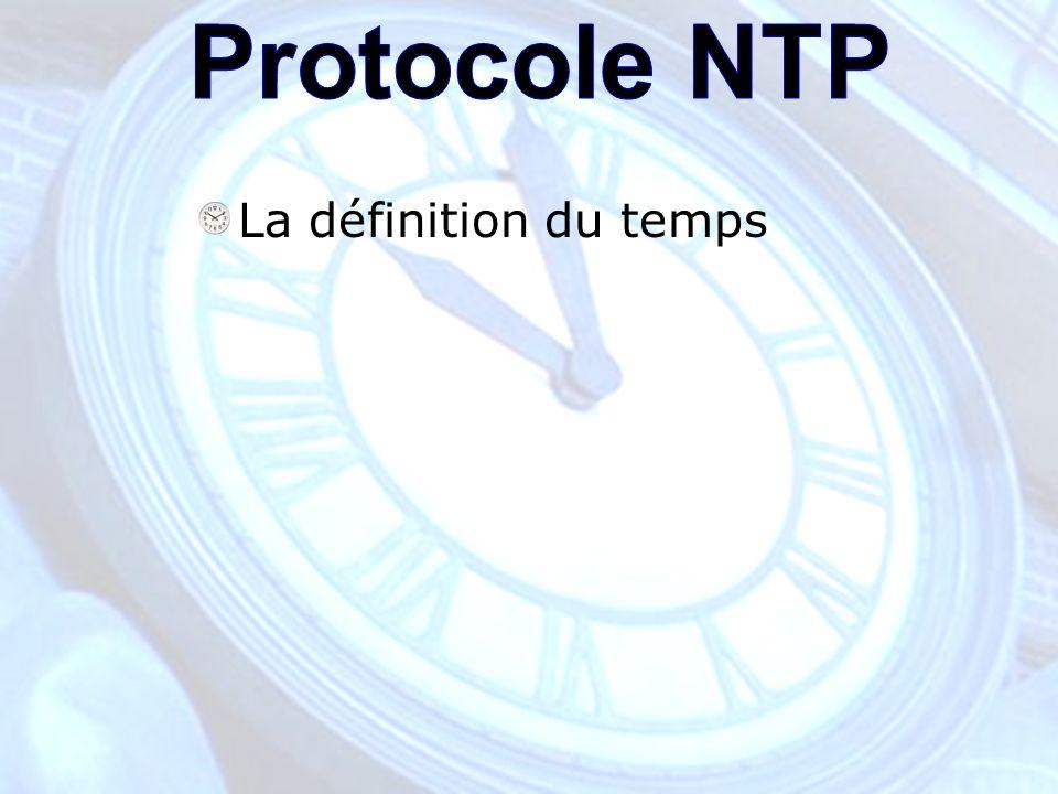 La définition du temps
