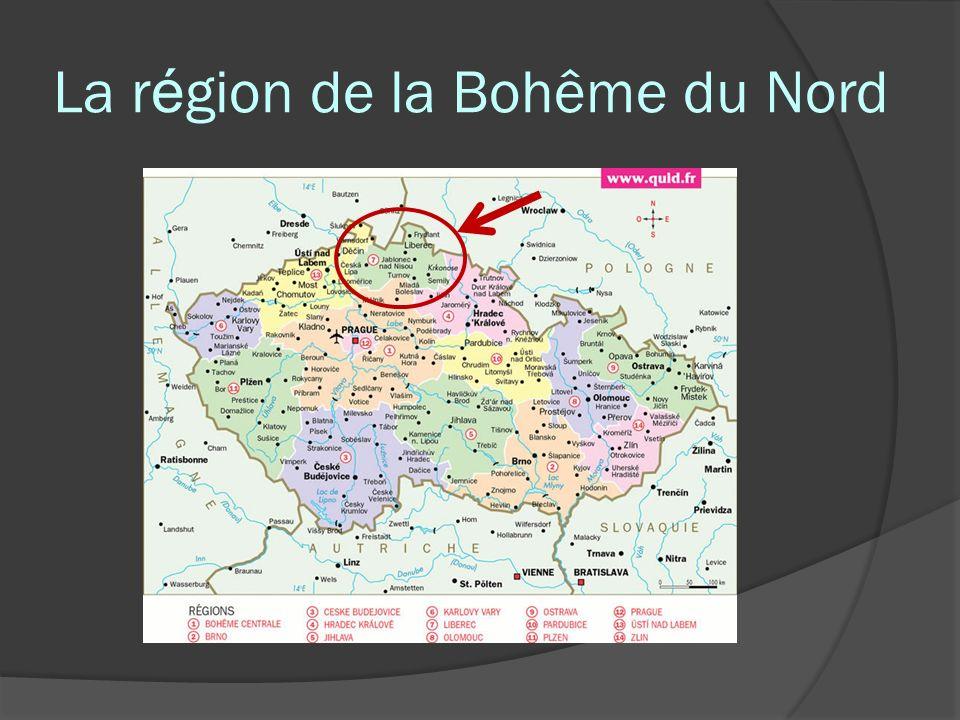 La r é gion de la Bohême du Nord