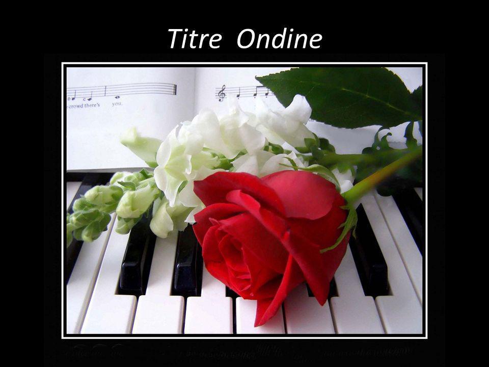 Titre Ondine