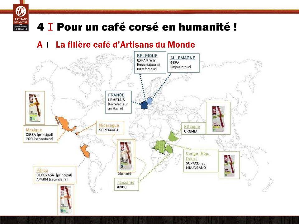 4 I Pour un café corsé en humanité ! A | La filière café dArtisans du Monde
