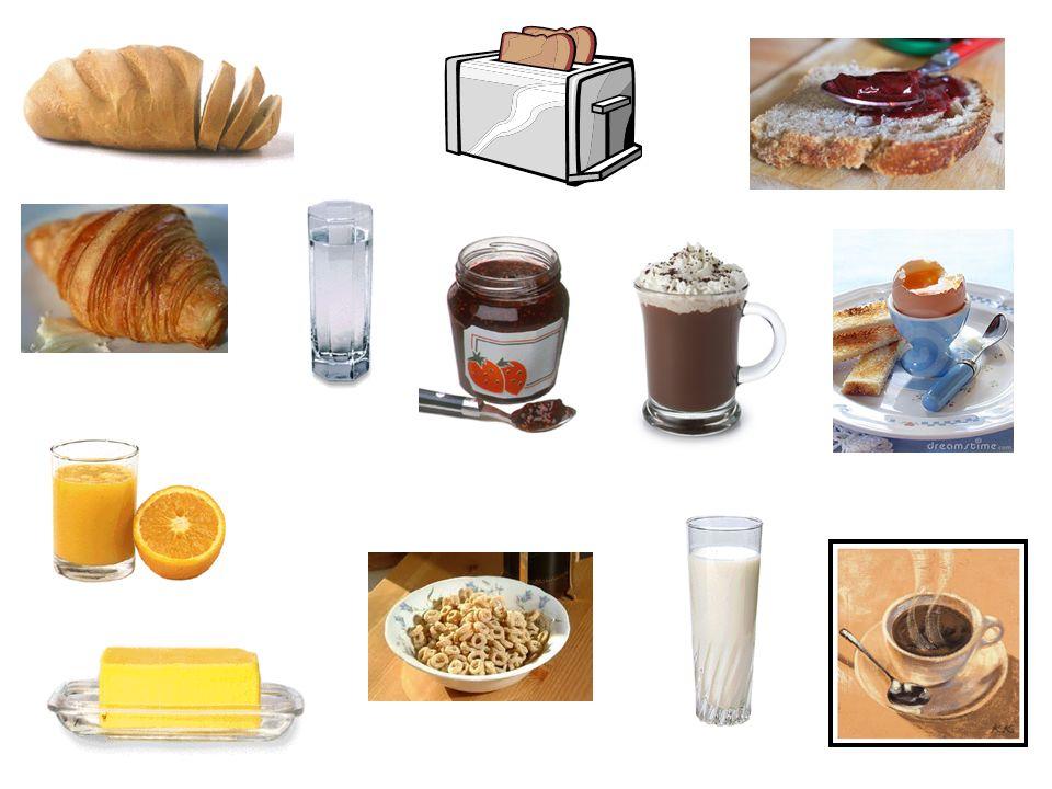 Objectif: Que manges-tu avant daller au collège.