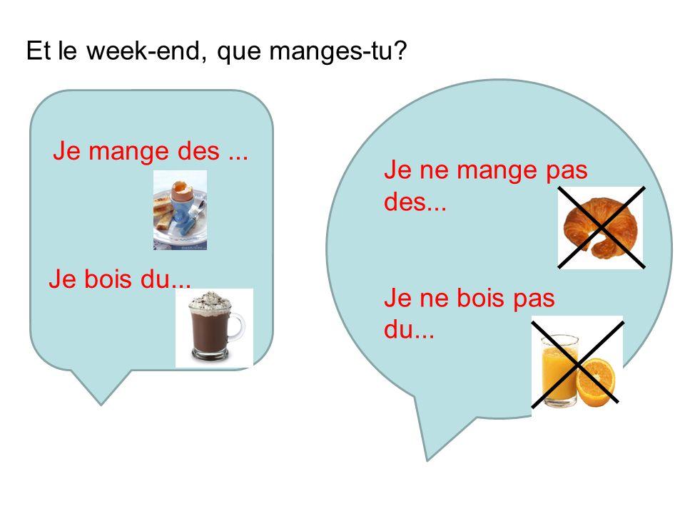 Ex1 p.140 Ecoutez Copiez et remplissez la grille journée scolairele week-end mangeboitmangeboit Nicolas Amélie