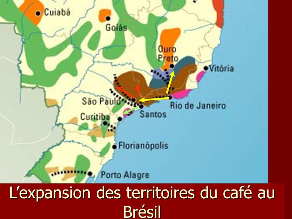 Lexpansion des territoires du café au Brésil