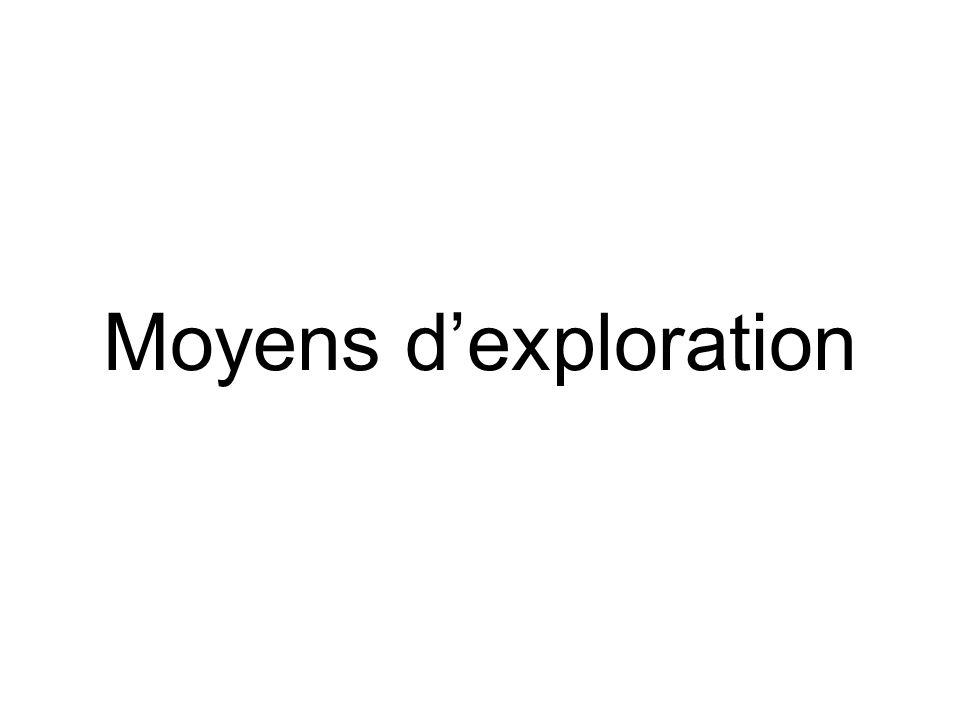 Moyens dexploration