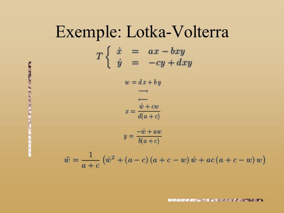 Exemple: Lotka-Volterra