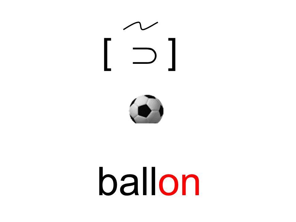 ballon [ ]