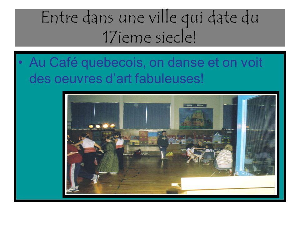 Est-ce que tu veux organiser le Café Acadien.