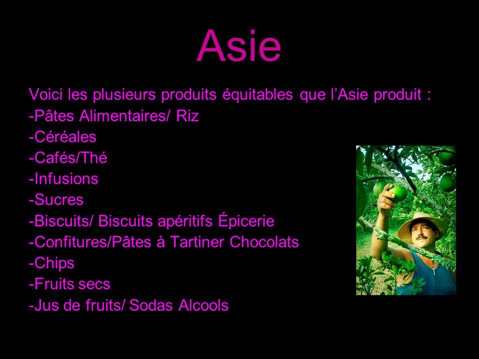 LAmérique Latine Les différents produits que lAmérique latine produit : - Coton - Quinoa - Banane - Miel - Cacao/Chocolat - Café