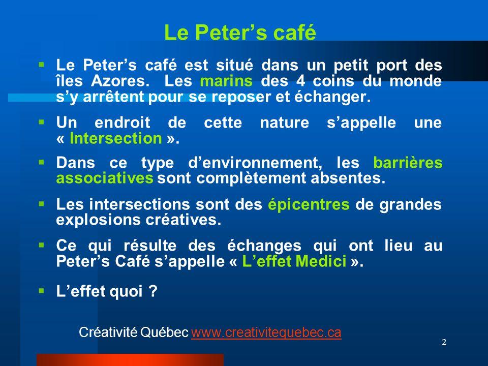 2 Le Peters café Le Peters café est situé dans un petit port des îles Azores.
