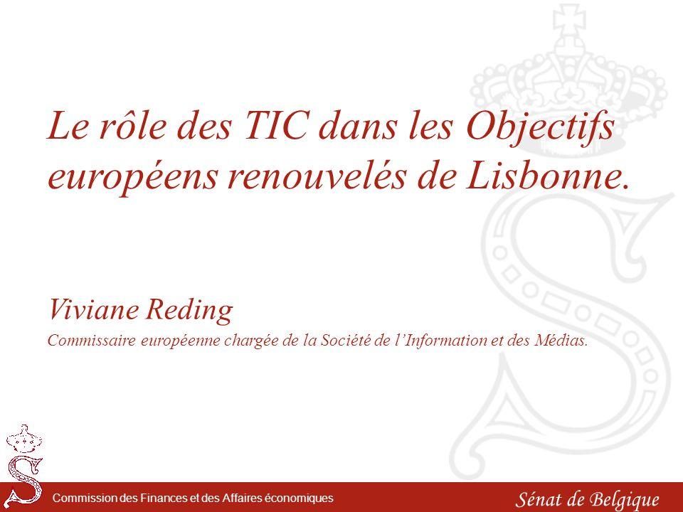 Introduction: Léconomie de la connaissance et linnovation en Europe et en Belgique.
