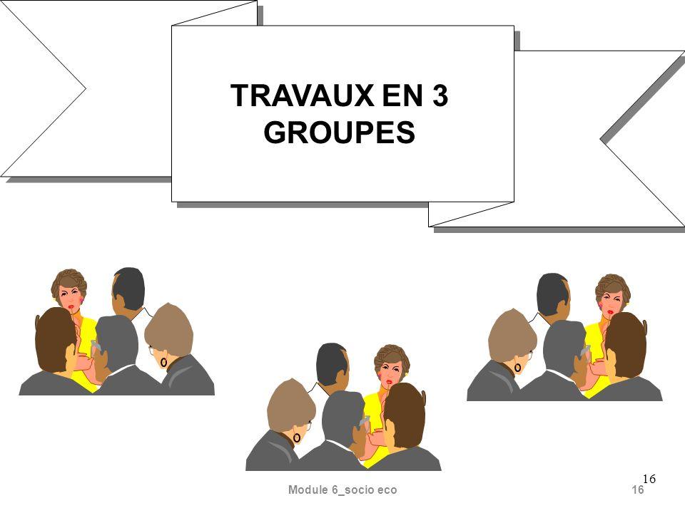 Module 6_socio eco16 TRAVAUX EN 3 GROUPES