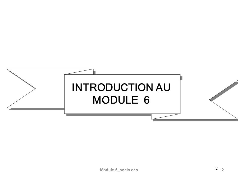 Module 6_socio eco2 2 INTRODUCTION AU MODULE 6
