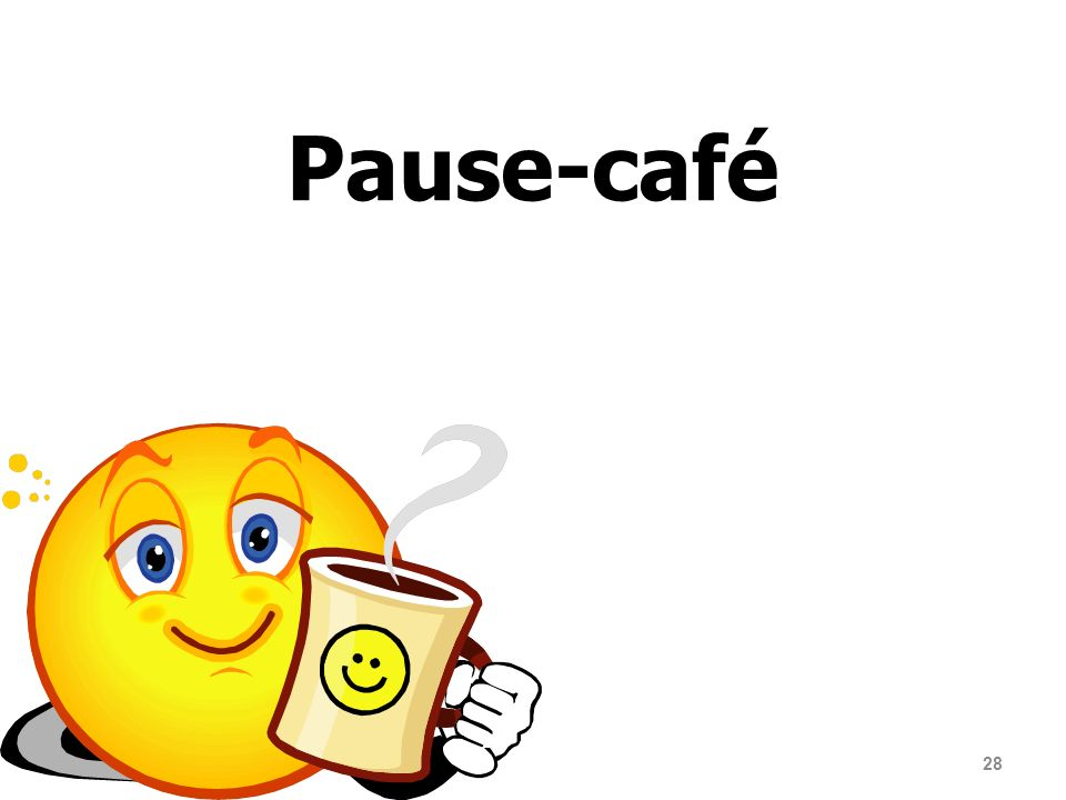 28 Pause-café