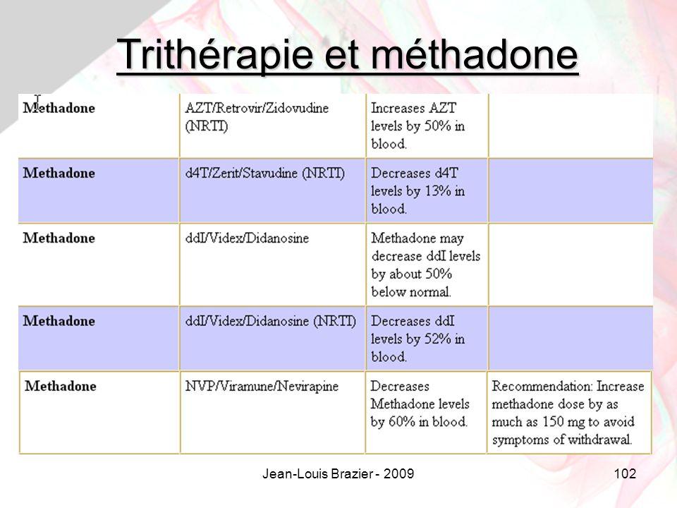 Jean-Louis Brazier - 2009102 Trithérapie et méthadone