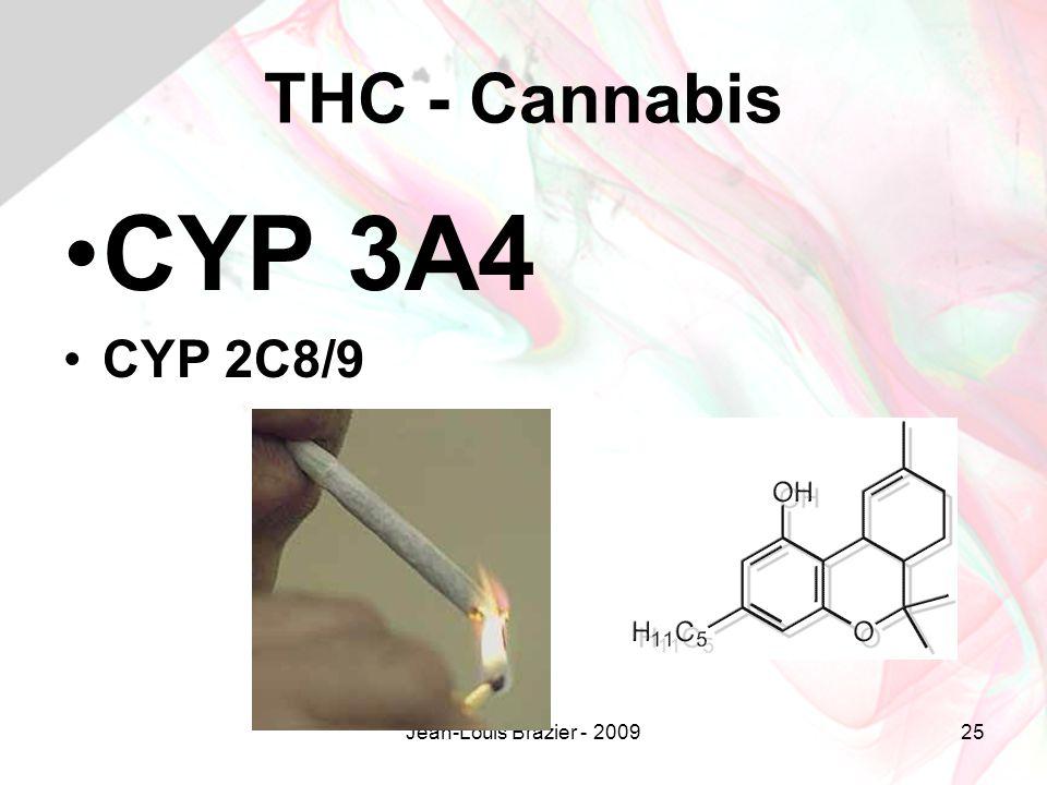 Jean-Louis Brazier - 200925 THC - Cannabis CYP 3A4 CYP 2C8/9