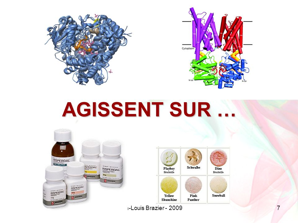 Jean-Louis Brazier - 200998 Interactions avec Méthadone autres Rx Substrats, inducteurs et inhibiteurs –CYP3A4 –CYP1A2 –CYP2D6 –CYP2B6