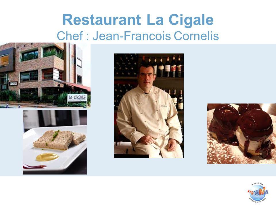 Restaurant La Cigale Chef : Jean-Francois Cornelis