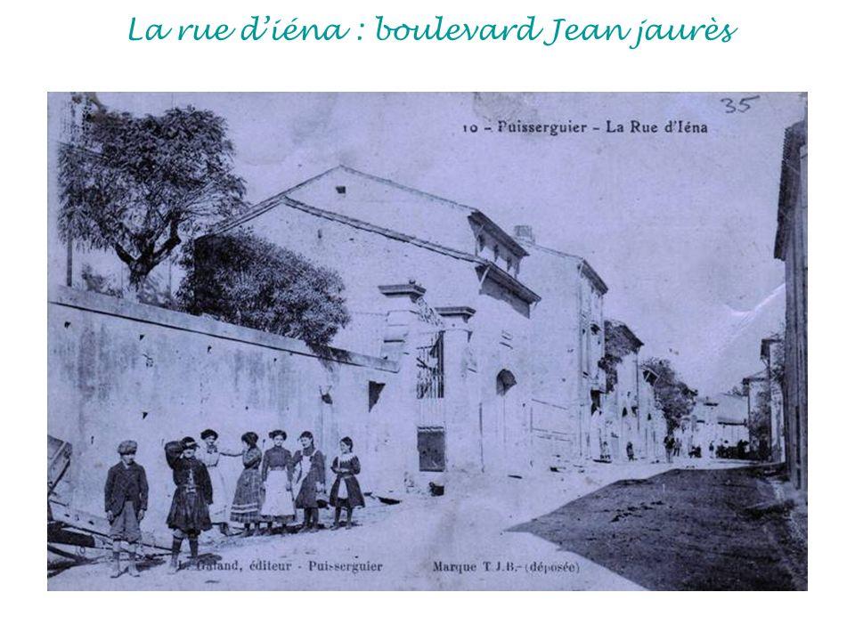La rue diéna : boulevard Jean jaurès