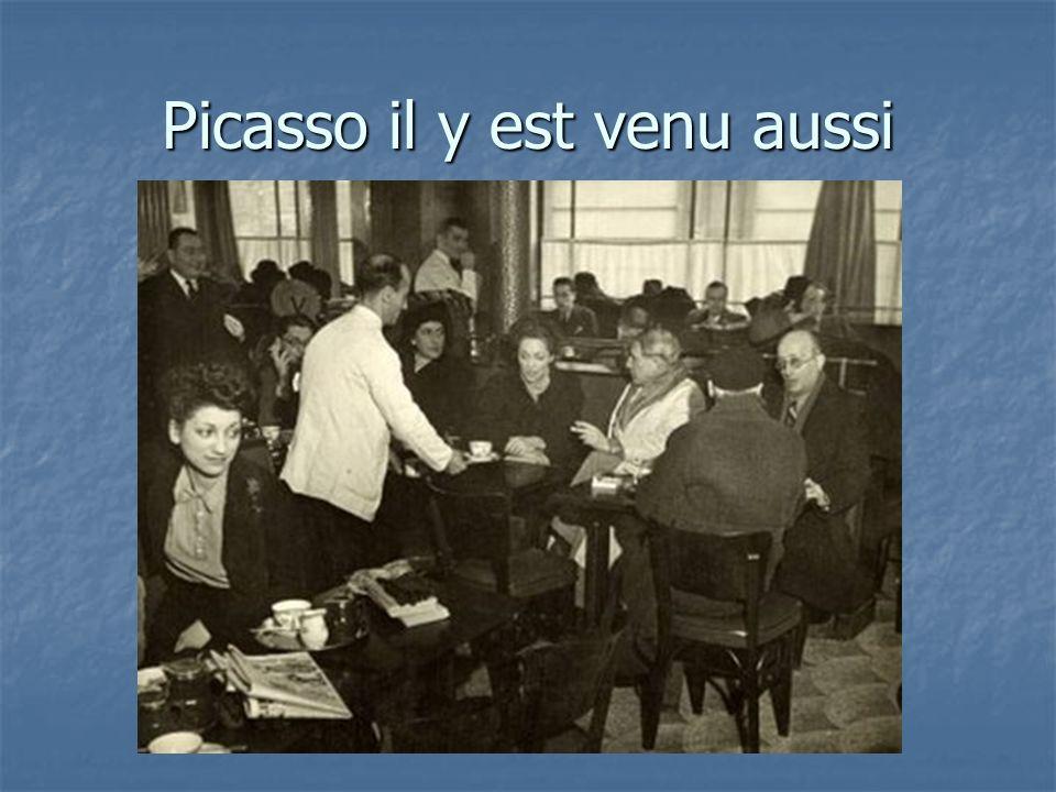 Picasso il y est venu aussi