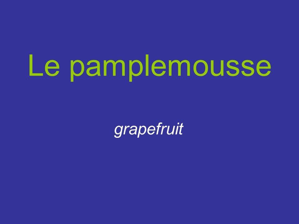 Le pamplemousse grapefruit